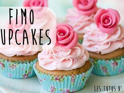 Tutoriel 17 : Réaliser un Cupcake en Fimo sans moule !. Clay Cupcake.