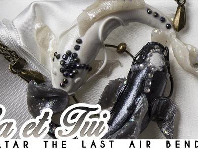 { TUTORIEL } - LA et TUI - Avatar the Last Air Bender Inspired - Polymer Clay