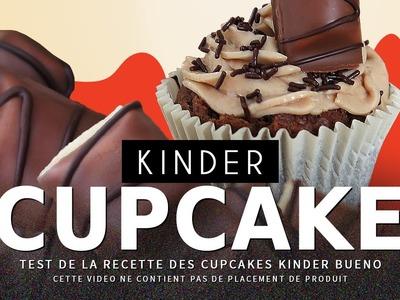 CRASH TEST : faire des cupcakes Kinder Bueno