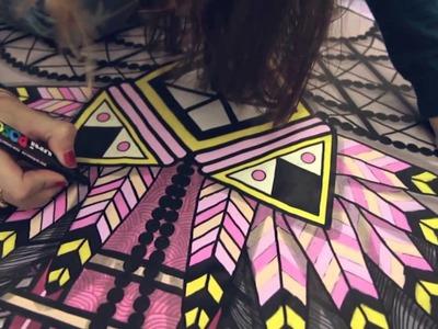 TANDEM, l'intimité géométrique de SupaKitch & Koralie