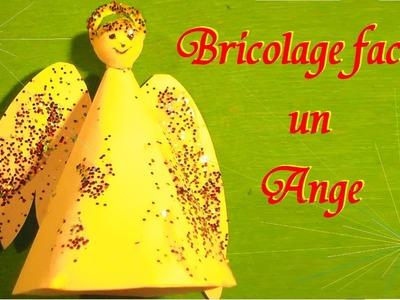 Ange gardien : Bricolage papier pour Noël Pâques et porte bonheur