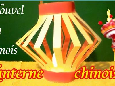 Bricolage Fête du Nouvel An Chinois : Une lanterne chinoise