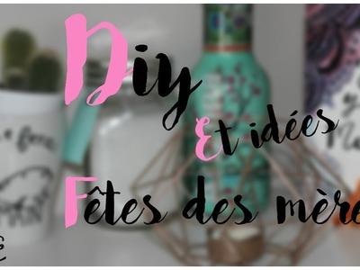Idée cadeaux et DIY♥Fête de mères!