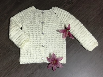 Brassière crochet style Chanel 1.2. Crochet cardigan Chanel style 1st part (english subtitles)
