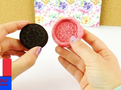 DIY Moule OREO en silicone | Super simple & super cool | Faire Cookies Oreo | Savon & Cadeau