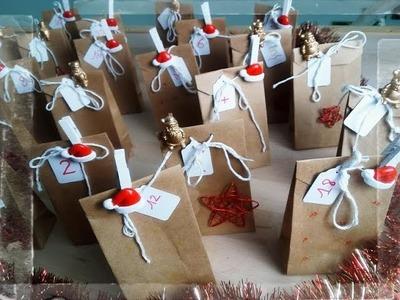 Noël - calendrier de l'avent DIY - vegaooparty.com
