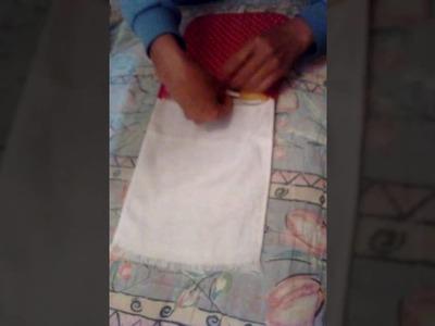 Necessaire.toalhinha - Artesanal   Let.Art - Artesanato