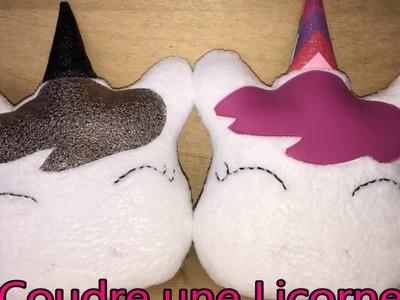 Coussin Licorne - Tuto Couture DIY