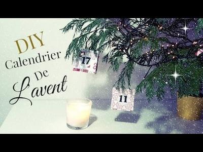 DIY Calendrier de L'avent Noël 2016. Advent calendar