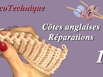 Côte Anglaise et Point Brioche : Réparation
