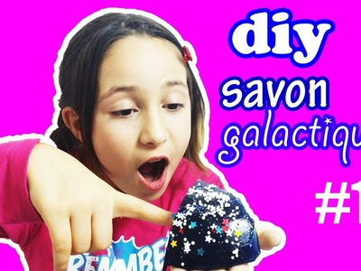 DIY.SAVON GALACTIQUE!COMMENT FAIRE, GALAXY SOAP TUTO!