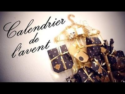 DIY CALENDRIER DE L'AVENT. NOEL 2016