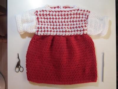 TUTO CROCHET Comment faire une Robe pour Bébé