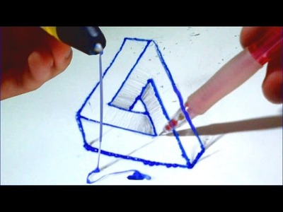 Dessin Illusion : Avec le Stylo 3D (Scribbler)