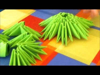 Tutoriel :  Comment réaliser un sapin de Noël en Origami 3D