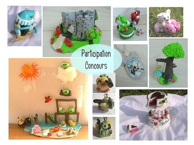 [participation concours] : Sweety-fimo ♥
