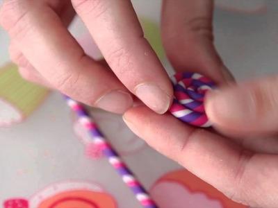 Tuto Fimo : création vidéo de bijoux LOLLIPOP
