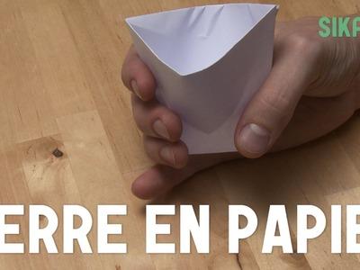 Origami : Gobelet En Papier