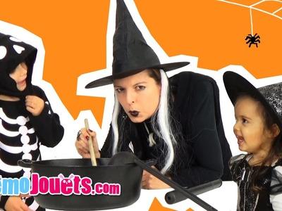 Déguisement Halloween Sorciere et Costume Squelette Oxybul - Démo Jouets