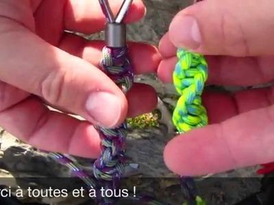 "[TUTO] Le ""Cobra twist"" - porte clé - © Mrlxp ® (Fr)"