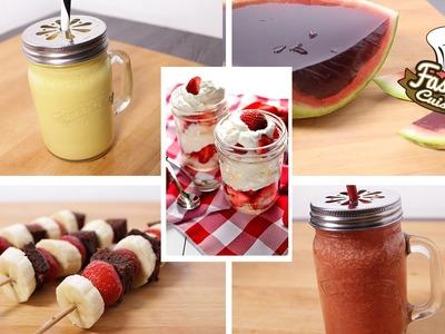 Compilation de Gourmandises pour l'été