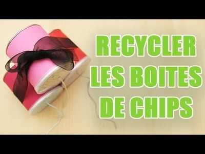2 idées déco pour recycler vos boites de pringles vides