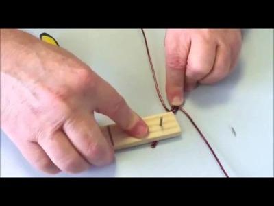 Atelier création de bague fil, Gabarit pour bague fil d'alucolors