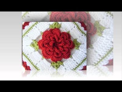 Crochet pattern for center table