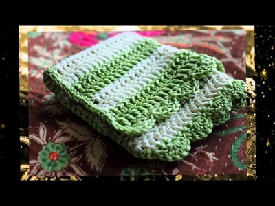 Crochet pattern for table placemats