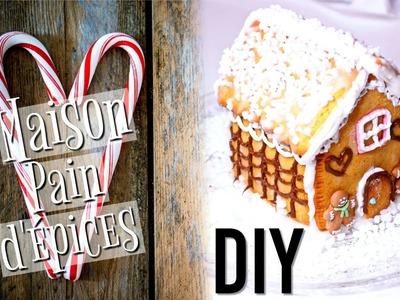 DIY Noël : La Maison en Pain d'épices (français). Gingerbread House