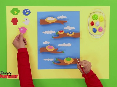 Art Attack - Le jeu de plate-forme - Disney Junior - VF