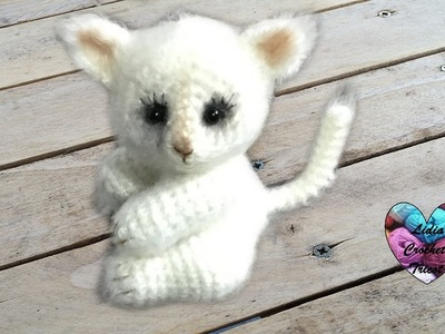 Chat Amigurumi Crochet 2.2. Cat amigurumi 2.2 (english subtitles)