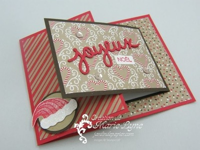 Carte double pliage - Stampin'UP!