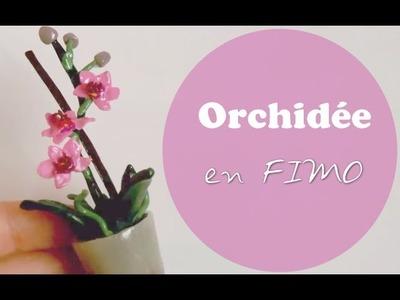 [TUTO #6] L'Orchidée en fimo par Misslolocreative