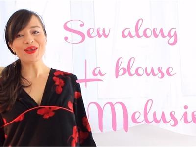 Tutoriel couture: coudre la blouse Melusine 1.2