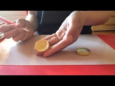 DécoFimo - [Tuto Fimo] Tartelette framboises chantilly pour la fête des pères