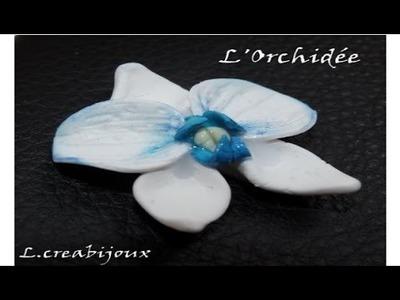 L'orchidée fimo