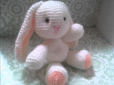 AMIGURUMI (crochet) : petit lapin blanc