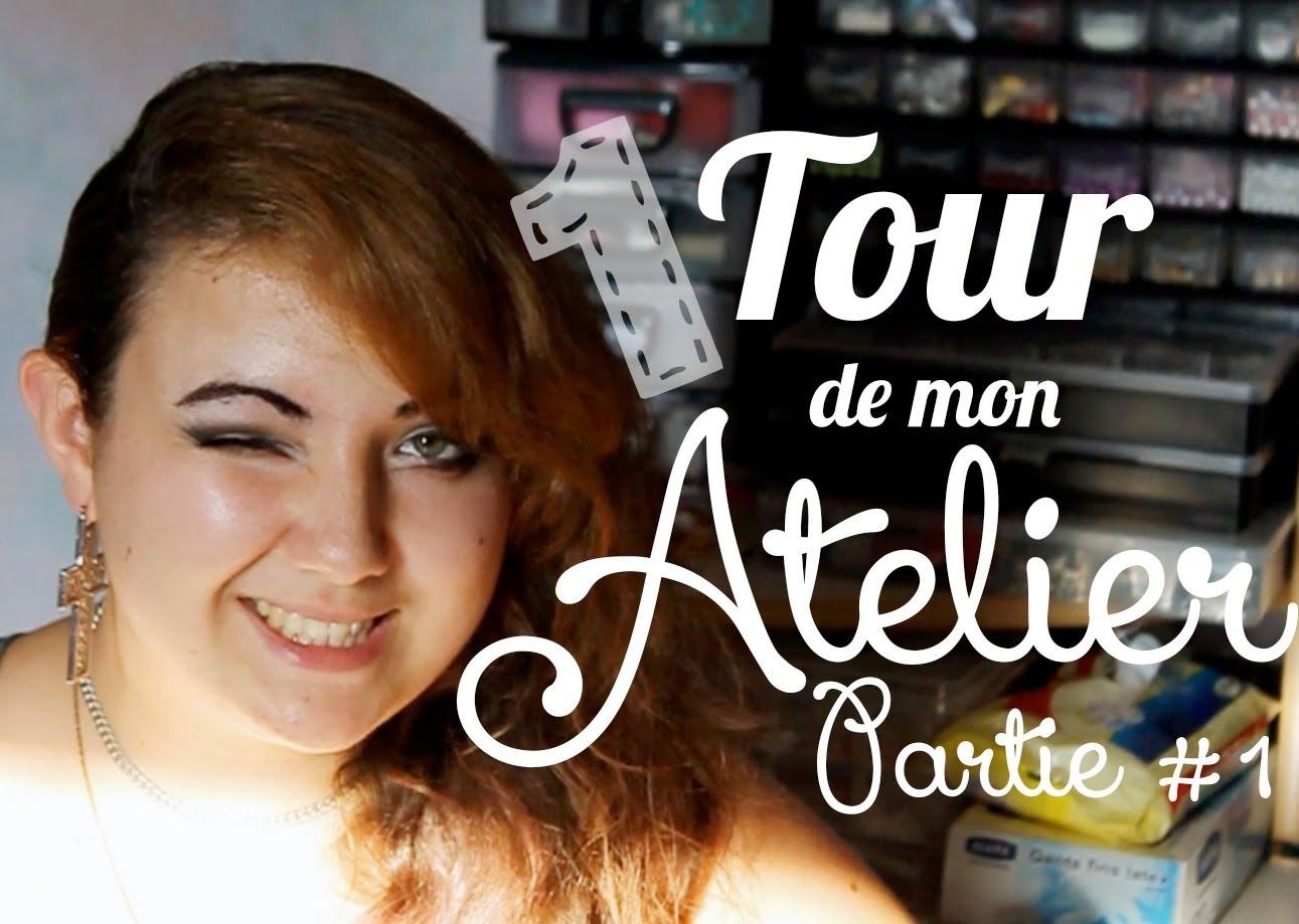 [ATELIER] Tour de mon Atelier - PARTIE 1 - Craft Area Tour