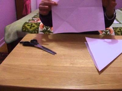 Comment faire un marque-page en Origami ?
