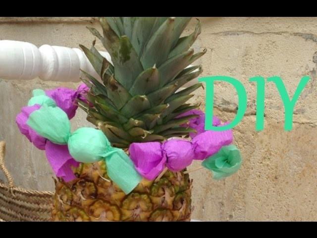 ✄ DIY: BonBons en Papier Crépon ✿◡✿ Paper Crepe Candy ♥ [Julie]