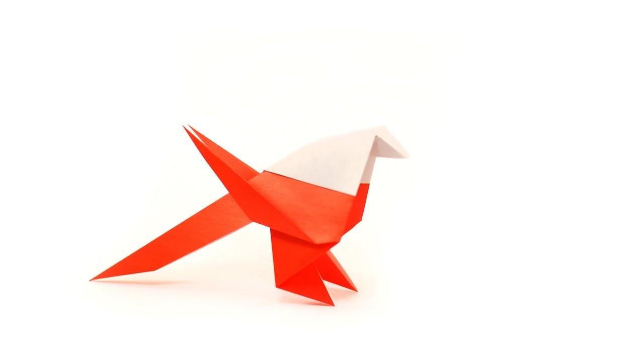 DIY - Origami Mésange by Fraises au sucre