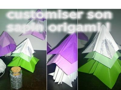 DIY sapin origami ! Déco de sapin de Noël #DOITMAS