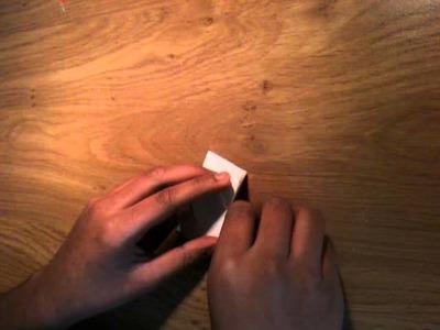 Faire un coeur en origami - Pliage en papier coeur