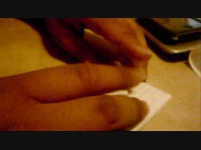 Grue en origami tutorial