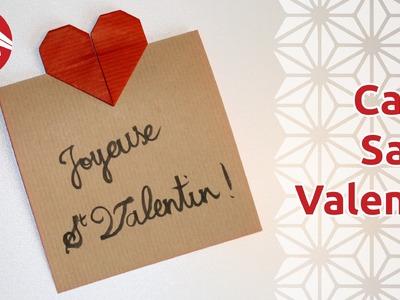 Origami - Carte pour la Saint Valentin [Senbazuru]