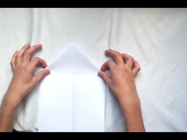 Origami - Faire un avion en papier
