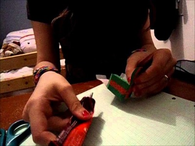 Tutoriel N°1 - Boîte mignonne pour Noël (Papercraft Milkbun)