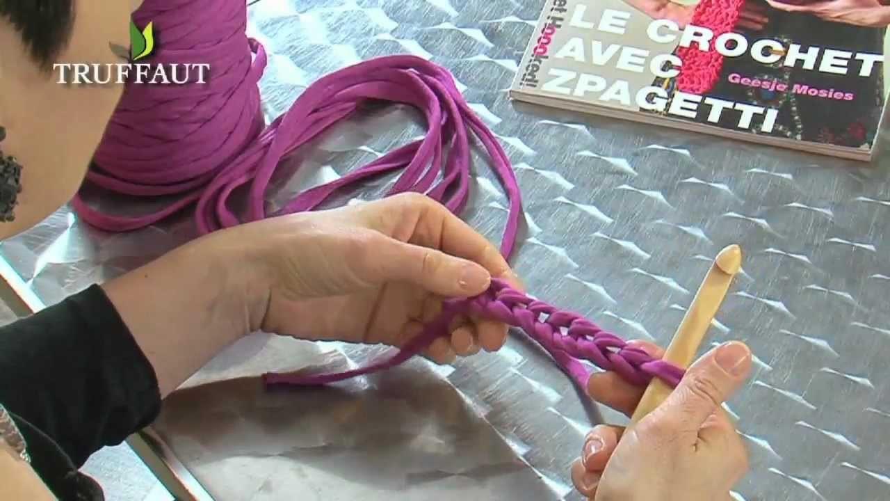 Apprendre le crochet : la maille serrée