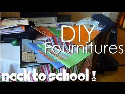 Back to school DIY : Décorer cahiers, classeurs, pochettes et blocs-notes !